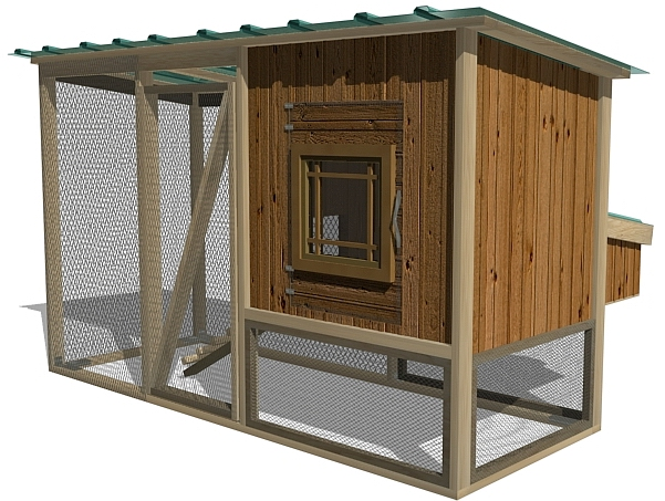 Coop plans review raising chickens for eggs for Mobile chicken coop plans
