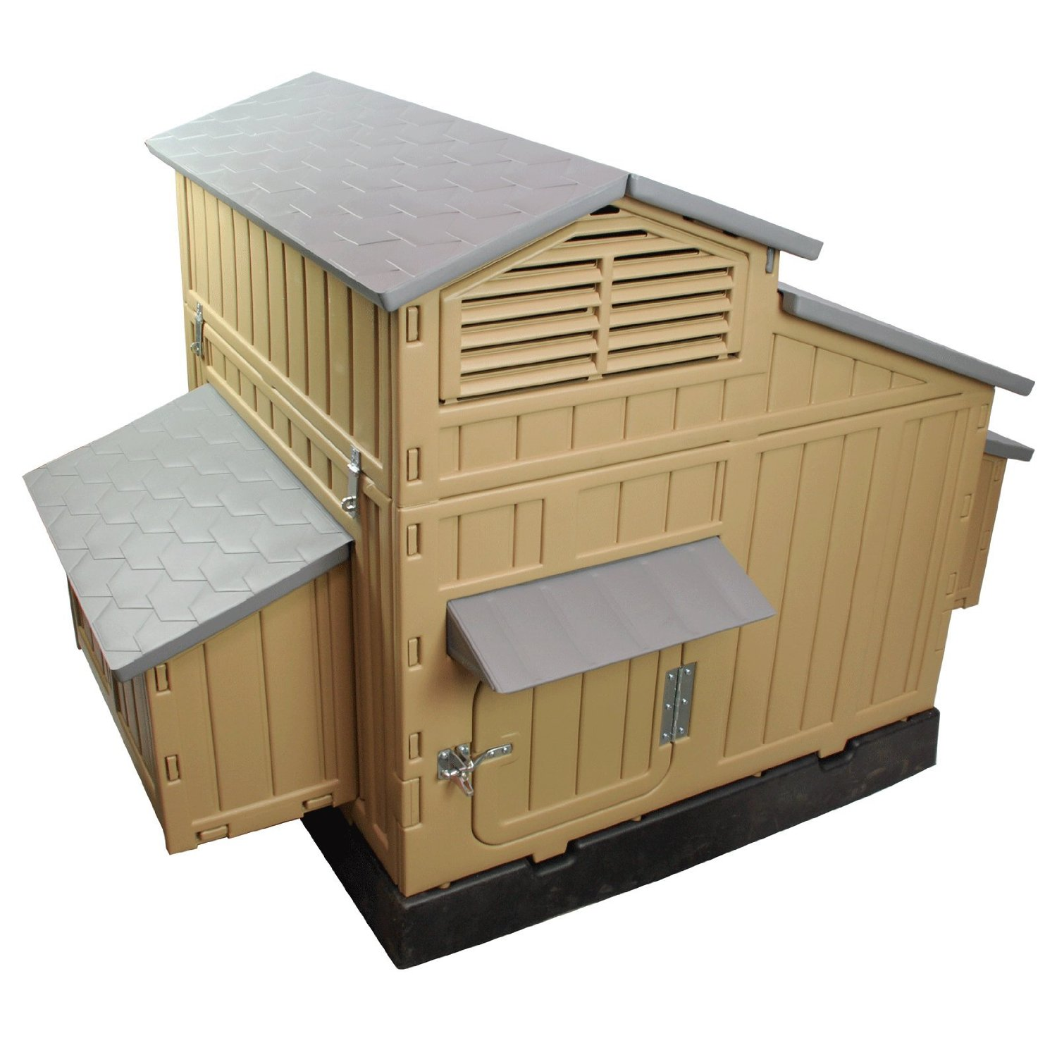 Best chicken coop raising chickens for eggs for Chicken coop size for 6 chickens